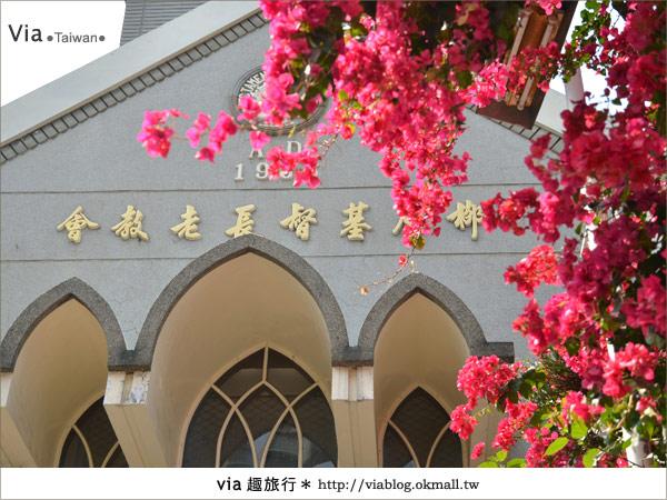 【台中景點】柳原教堂~百年歷史風華教堂,新人婚拍最愛!15