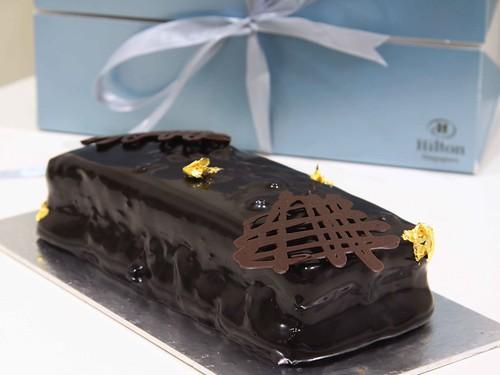 Herbe Chartreuse Chocolate Crispy Cake