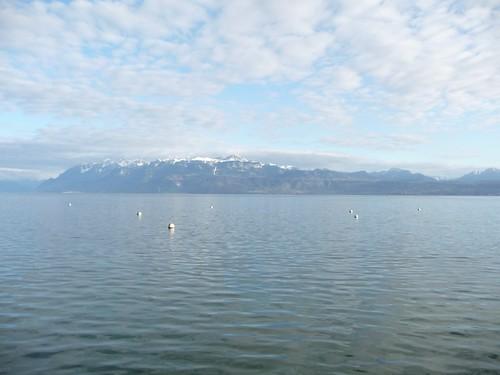 Um lago para meditar...