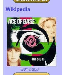 Wikipedia album art suggestion