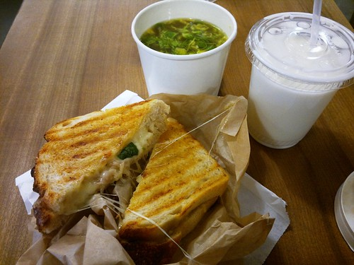 Grilled Cheese & Soup Lunch