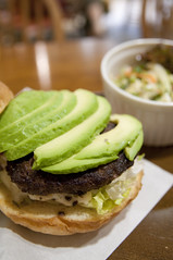 Avocado Burger, Arms Picnic, Shinjuku Lumine