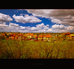 april from my window 10-20 mm (ildikoneer) Tags: city trees houses homes sky home clouds canon landscape eos hungary view budapest sigma panoramic neighborhood cumulus mm 1020 billowy huse digitalcameraclub 40d colorphotoaward