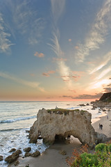 El Matador (Edwin_Abedi) Tags: ocean california sunset beach landscape rocks waves pacific malibu cave elmatador ef1740mmf4lusm eos5dmarkii