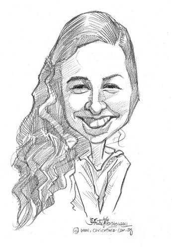 caricature in pencil - 31