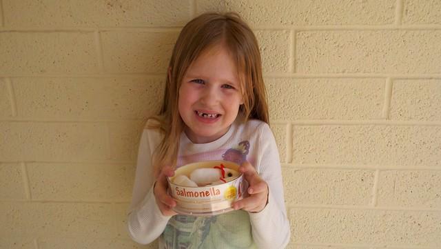 C & her salmonella!
