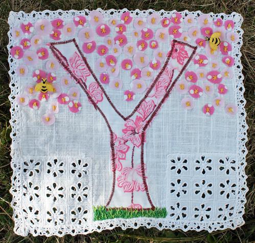 "Spring banner ""Y"""