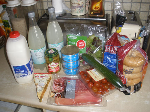 Been shopping.. Mmmm.. foodies..