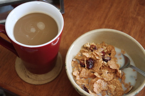 coffee, Great Grain Cranberry Almond crunch