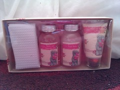 Tatty Teddy bath stuff