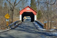 frankenfield covered bridge-det (dfbphotos) Tags: county nikon bridges pa covered coveredbridge bucks pacoveredbridgesundale