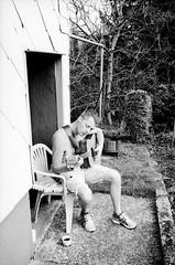 (fluffisch) Tags: film analog self 35mm contax g2 beautifulman saarland steinbergdeckenhardt fluffisch