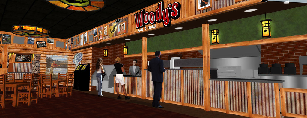 3D Bar Design | Lodge Style Bar Design | Interior Bar and Grill | Conceptual Bar Design | Lake of the Torches Casino