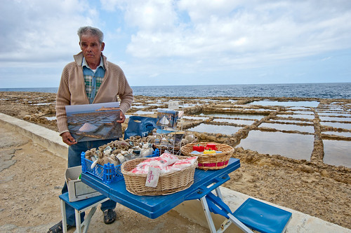 Salinas en Malta: Qbajjar de Gozo