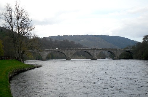 Bridge over Tay at Dunkeld