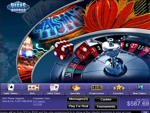 Vegas Casino Online Lobby