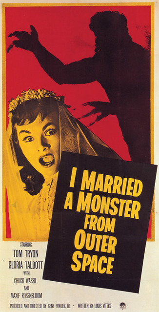 118-I-Married-a-Monster-from-Outer-Space by Mofo Posters