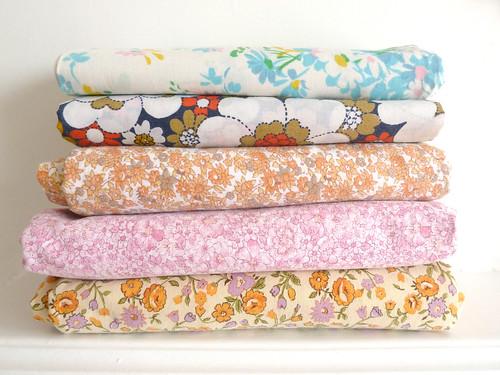 Vintage fabrics...