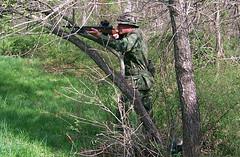 100_4319 (cowboy chris bbq) Tags: cute sexy hat usmc model marine gun photoshoot calendar boots modeling military rifle models columbia camo mo cap cover missouri blonde posters casual camoflage m14 booniehat cowboychrisbbq