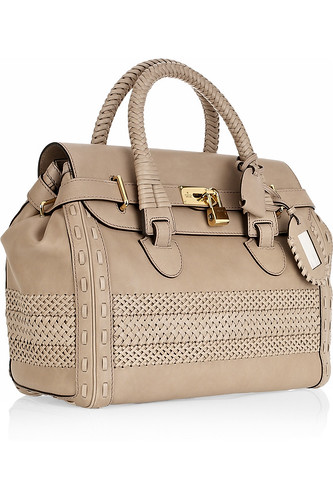 Gucci Lattice-detailed leather tote £3,864