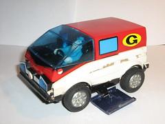 inspector gadget bandai 1983 changing car to van f (tjparkside) Tags: 1983 bandai inspectorgadget gadgetmobile gadgetvan