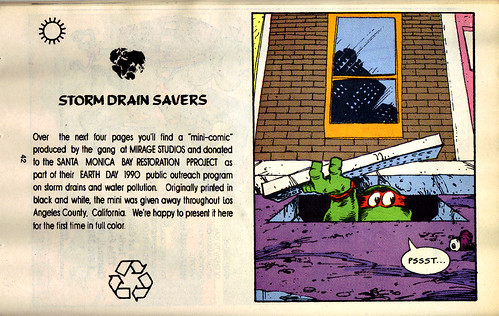 TMNT Adventures Special - Spring 1991 :: Teenage Mutant Ninja Turtles meet Archie // 'STORM DRAIN SAVERS', pg.42 (( 1991 ))