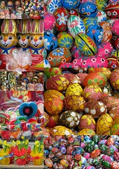 The Colours of Celebration - Easter Time (Lynn Morag) Tags: color colour colors festive easter interestingness colorful europe colours bright sweet mosaic egg poland krakow lynn explore eggs colourful lynnmorag paintedeggs interestingness274 april11 allrightsreserved s5is easter11