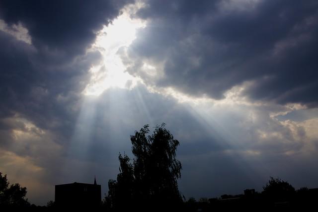 rupture in the sky