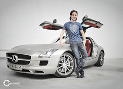 I Like this AMG (Tareq Abuhajjaj | Photography & Design) Tags: auto light red bw white black cars car sport speed photography lights design photo high nice nikon flickr power body top wheels gray fast gear saudi arabia manual carbon fiber rims riyadh v8 aluminium  sls amg drift fully 2010 supercharged brushed ksa  tareq 2011       d700       foilacar tareqdesigncom tareqmoon tareqdesign  abuhajjaj