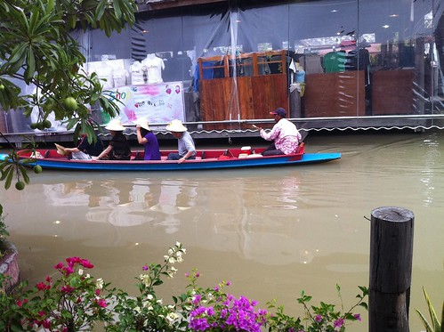 Floating Market Tour Boat