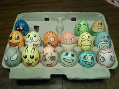 Pokmon Easter Eggs 2011 (Yaltro) Tags: road school sunset summer white holiday cute chicken beautiful june america out easter happy 1 march milk back spring cool day pittsburgh seasons artistic pennsylvania awesome egg nintendo creative may july august september poultry eggs april pikachu pokemon carton beatles apples 24 23 monsters sharpie tradition pocket dye oreos dying fathers squirtle ditto yolk 2012 jigglypuff mew ghastly psyduck eastereggs charmander togepi magikarp 2011 bulbasaur tangela voltorb metapod poliwag diglett env3