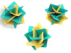 Two Spirals (Aneta_a) Tags: origami planar modularorigami
