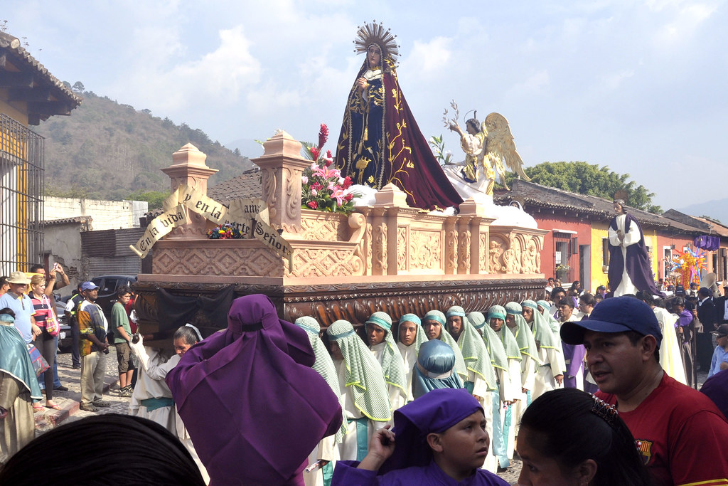 Lent procession; Antigua, Guatemala by eileeninca, on Flickr