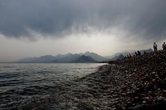 Ghosts right (Melissa Maples) Tags: blue sea snow mountains beach water turkey dark grey nikon asia mediterranean türkiye antalya nikkor vr afs 尼康 konyaaltı 18200mm 土耳其 亚洲 f3556g d40 ニコン 18200mmf3556g 安塔利亚