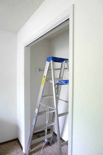 Painted Closet Trim