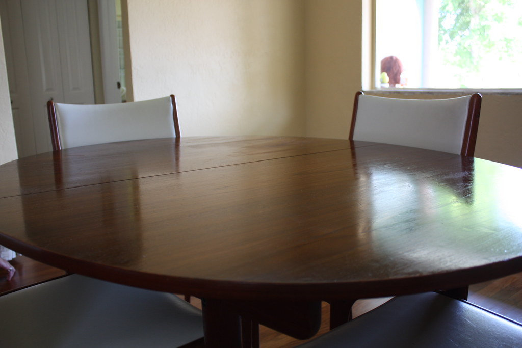 Hans Wegner Danish Modern Teak Dining Table