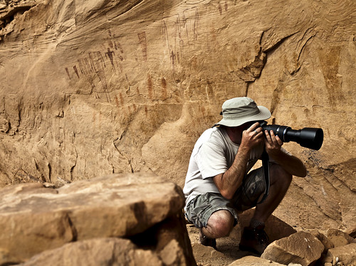 Shooting Rock Art