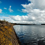Harbour Wall and Erskine Bridge