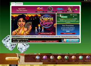 Captain Cooks Casino Lobby