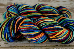 """Midnight Pool"" 8oz Cestari Fine Merino"