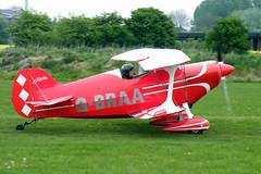 G-BRAA Pitts S-1C (tedwalkuk) Tags: aircraft aviation aerobatic pitts breighton gbraa