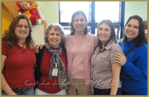 27.04.2011 - Equipe de voluntárias do Love Quilts Brasil by Cantinho da Aracy