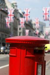 Regent Street post box (Not enough megapixels) Tags: street wedding red london post mail box kate pillar royal prince william april regent preparations 29th middleton 2011