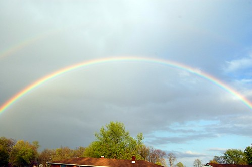 Double Rainbow Across the SKY!!