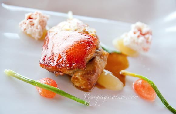pork, Akelarre, San Sebastian