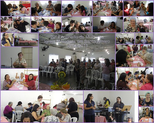 20º Encontrão de Mulheres - Igreja Metodista em Santo Amaro by Cantinho da Aracy