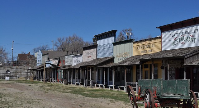 Dodge City Front Street