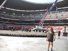 Tercer día de montaje - Estadio Azteca 20
