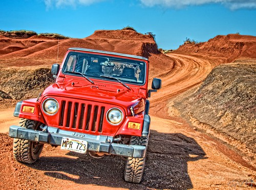Video: Off Road Jeep Driving on Lanai - Go Visit Hawaii