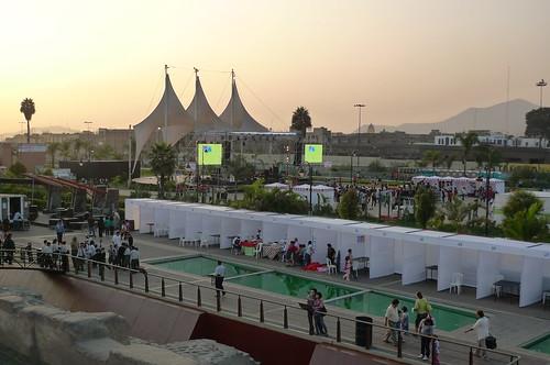 Concert - Parque de La Muralla - Lima, Peru